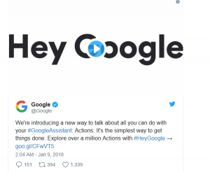 Assistant Hey google