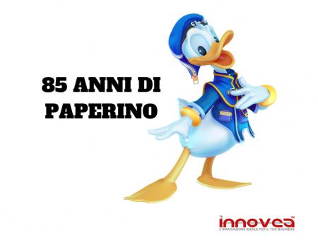 85 anni di Paperino: grandi festeggiamenti con una campagna pubblicitaria e gadget